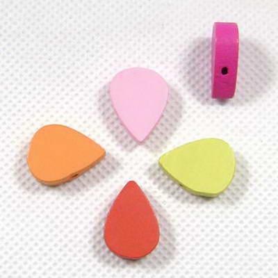 Wooden beads - Teardrop shape