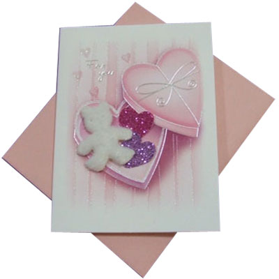 Greeting Card, 7 by 9cm