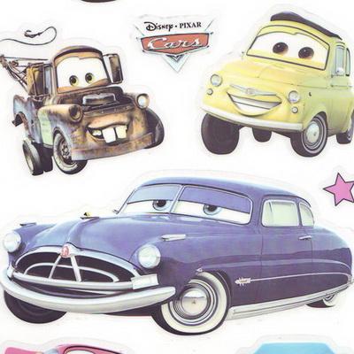 Window stickers - Disney car