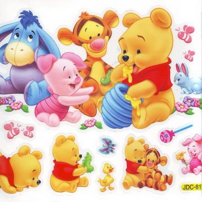 Window stickers - Winnie the Pooh