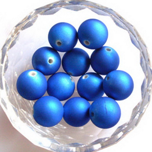 Acrylic beads, Rubberised beads