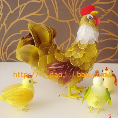 Nylon chicken
