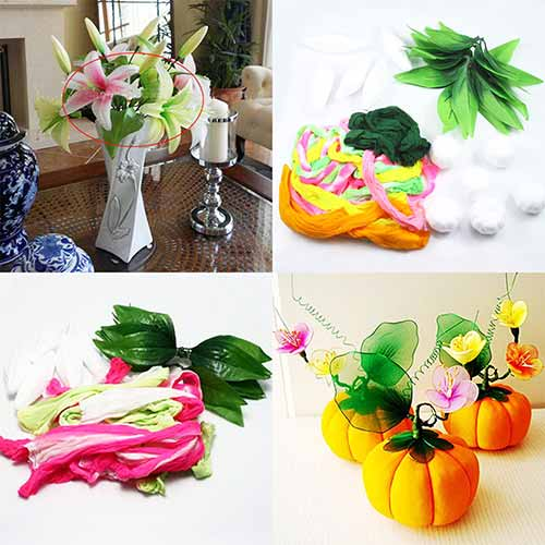 Beginners nylon flower making kit 2