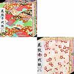Yuzen Chiyogami floral patterns set