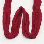 Single colour Specially dyed nylon, Nylon, Burgandy, Stretched Size per piece 1.5m x 15cm, 30 pieces