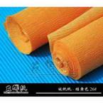 Thick Crepe paper, orange, 20cm x 50cm, 1 sheet, 75 gsm