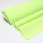 Thick Crepe paper, Light green, 20cm x 50cm, 1 sheet, 85 gsm