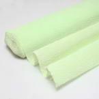 Thick Crepe paper, Light green, 25cm x 50cm, 1 sheet, 125 gsm
