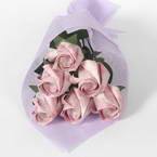 Kawasaki Rose bouquets, pink, 6 flowers