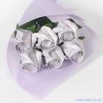 Kawasaki Rose bouquets, purple, 6 flowers
