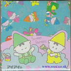 Sweat painter pattern, 3 inch (7.5cm) square, 100 sheets