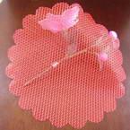 Organza wrappings, 23.5cm x 23.5cm, 2 bag