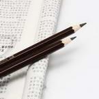 Water-soluble Colour pencils, brown, 17cm x 0.7cm x 0.7cm, 1 Colour pencil