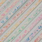 Lucky stars, Assorted colours, 25.5cm x 1cm, 60 sheets