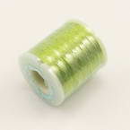 Metallic threads, Rayon, Green-Yellow, 200m