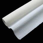 Thick Crepe paper, white, 40cm x 100cm, 1 sheet