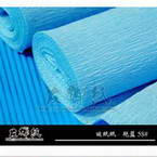 Thick Crepe paper, blue, 40cm x 100cm, 1 sheet