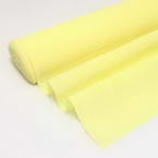 Thick Crepe paper, Yellow, 1m x 40cm, 1 sheet