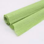 Thick Crepe paper, Green-Yellow, 40cm x 100cm, 1 sheet