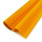 Thick Crepe paper, orange, 50cm x 40cm, 1 sheet, 75 gsm