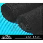 Thick Crepe paper, black, 1m x 40cm, 1 sheet