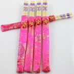 Chinese chopsticks, Bamboo, Natural colours, 24cm, 5 Pair