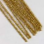 Felt wires, Yellow, 30cm x 6mm, 10 strips