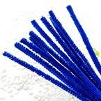 Felt wires, blue, 30cm x 6mm, 10 strips