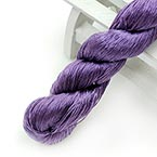 Silk embroidery thread, Silk, Dark purple, 20m