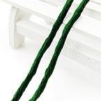 Silk embroidery thread, Silk, Dark green, 20m
