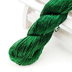Silk embroidery thread, Silk, Dark green, 20m
