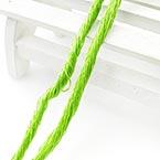 Silk embroidery thread, Silk, Green-Yellow, 20m