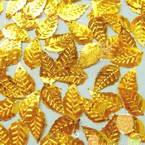 Gold colour Sequins, 15mm x 20mm, 20 slices