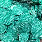 Sequins, Dark teal, 29mm, 25 pieces, 5g, Round shape, Sequins are NOT shiny