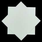 Origami paper, white, 15cm x 15cm, 30 sheets
