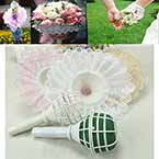 Bouquet flower holder