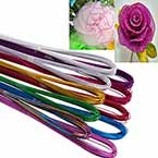 Colour florist wire