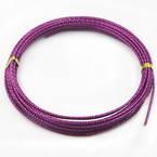 Swirl coloured aluminium wire