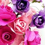 1.5cm Rose - Paper