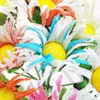Gerbera flower bouquet 1 - fabric