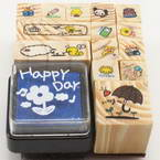 Cartoon Rubber stamps