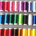 Multicolours cotton thread