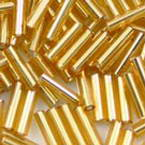 Glass tube Bugle Seed Beads - 2 by 6mm