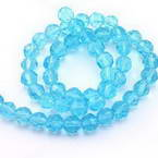 Glass Faceted Beads - 4mm