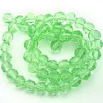 Glass Faceted Beads - 6mm