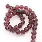 Glass Faceted Beads - 8mm
