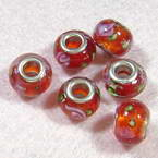 Venetian glass beads - Disc shape