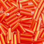 Glass tube Bugle Seed Beads - 1 by 12mm
