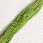 Cotton embroidery thread - green