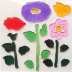 3D Plants Jelly Stickers